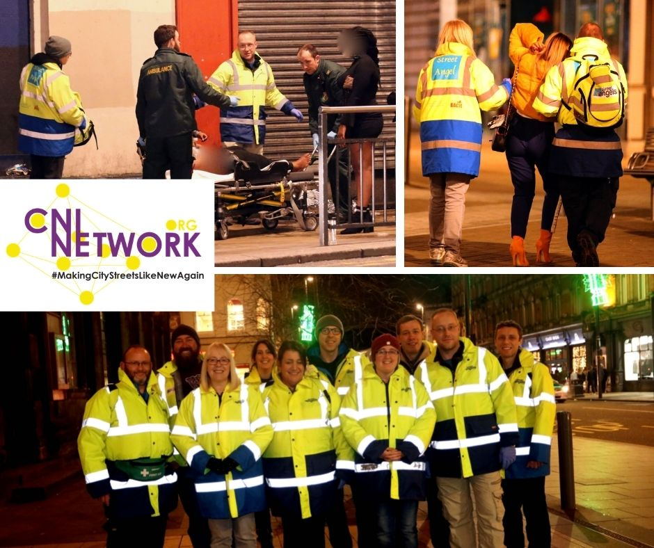 Corporate charity street angels